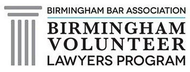 Birmingham Bar Association volunteer logo